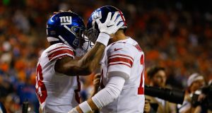 Evan Engram, Eli Manning, New York Giants