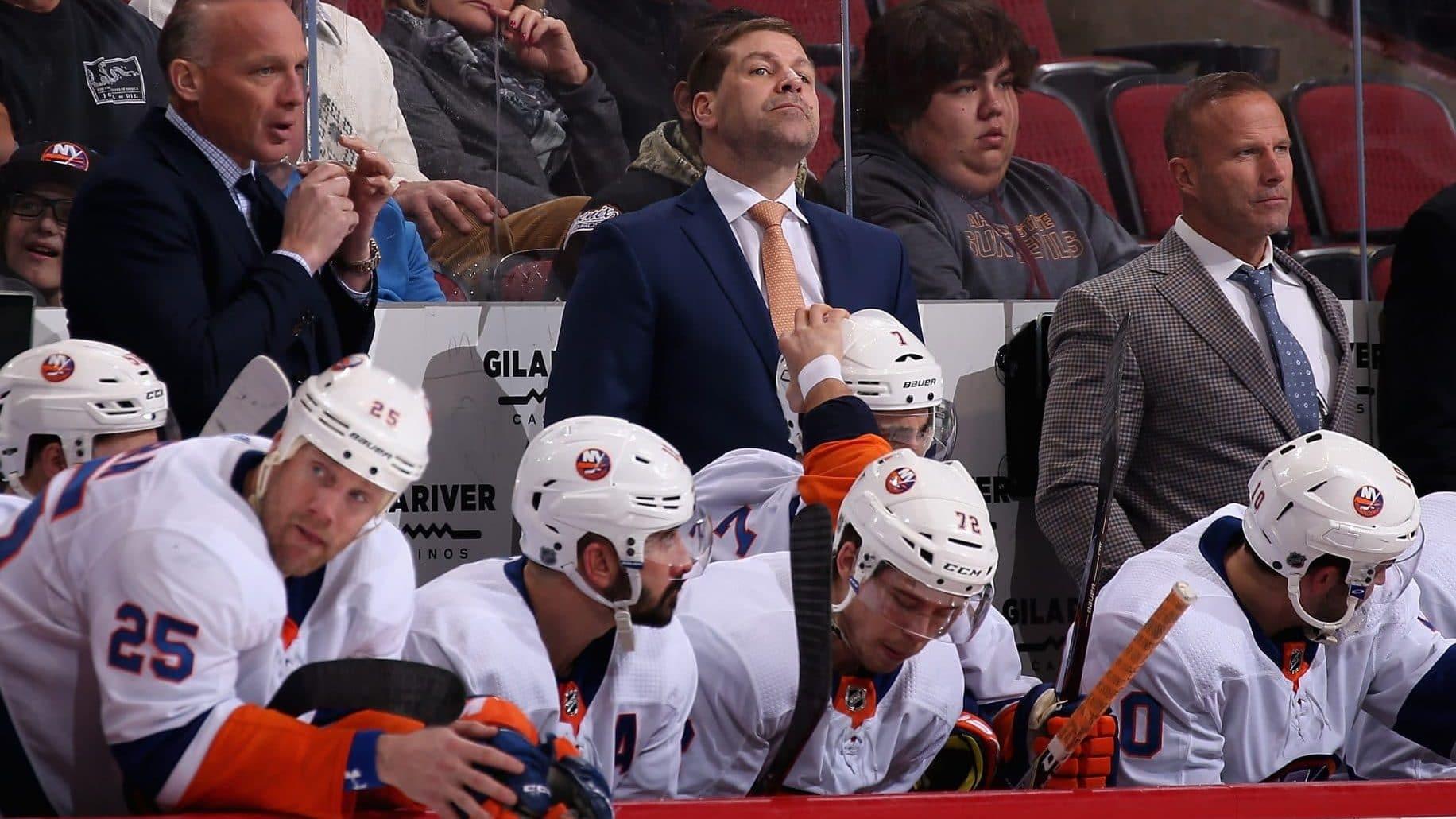New York Islanders, Doug Weight, Arizona Coyotes, Gila River Arena