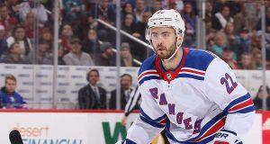New York Rangers D Shattenkik shutdown