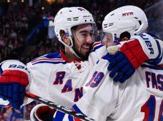 New York Rangers Jesper Fast on top line