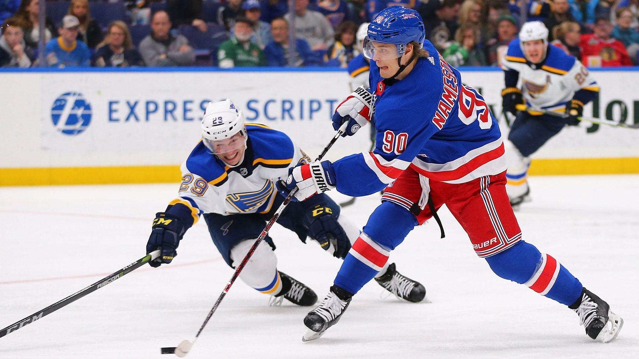 Vladislav Namestnikov New York Rangers