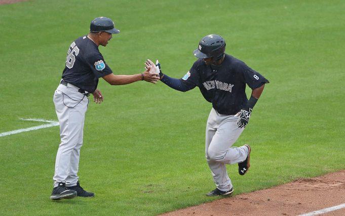 New York Yankees Miguel Andujar