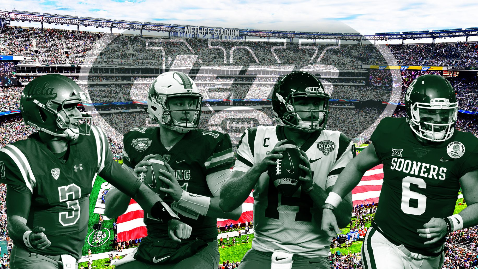 New York Jets  Trading up in 2018 NFL Draft was a must 9b0c00908a9