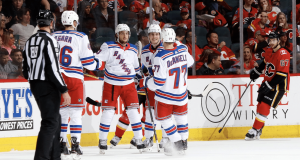 New York Rangers Flames