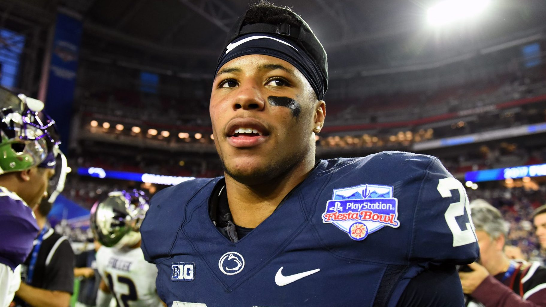 Penn State's Barkley excited to become father
