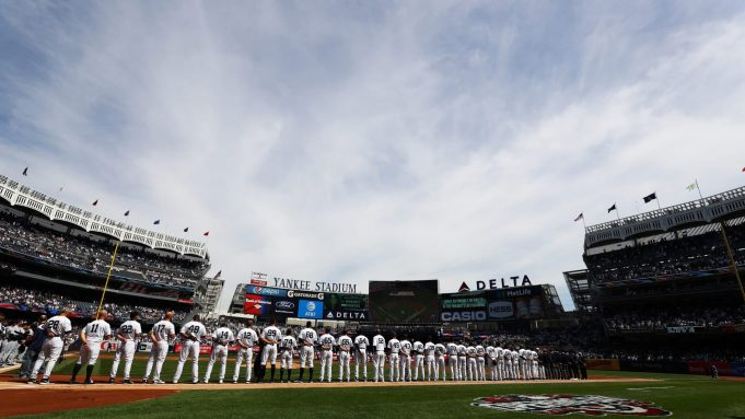 New York Yankees Opening Day 2017