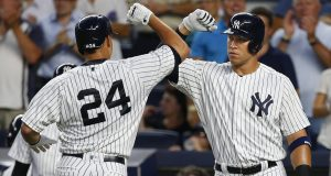Gary Sanchez, Aaron Judge, New York Yankees