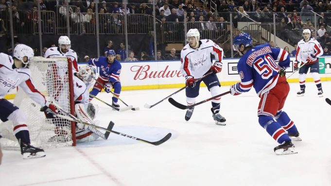 Lias Andersson preparing for first NHL goal in 4-2 loss to Washington