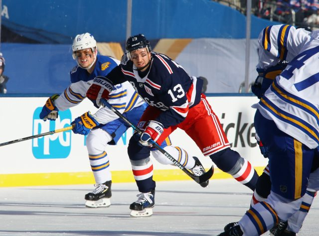 Kevin Hayes in the Winter Classic