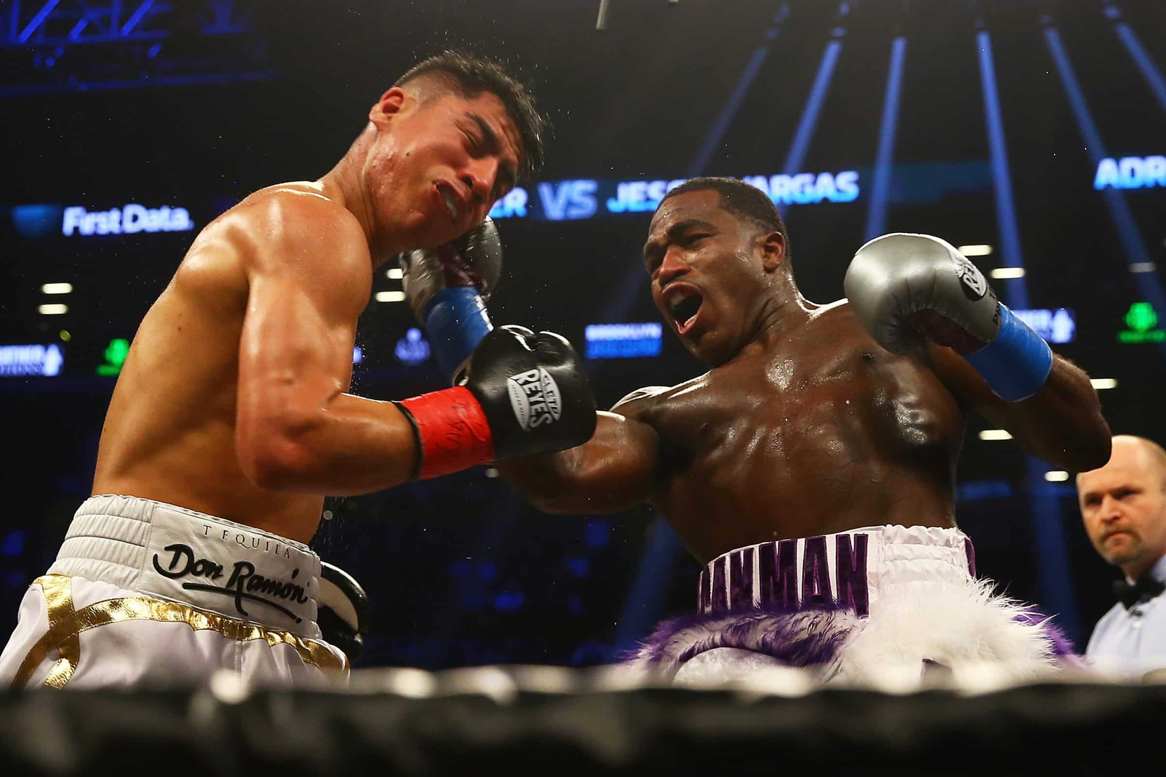Adrien Broner and Jessie Vargas fight to a majority draw