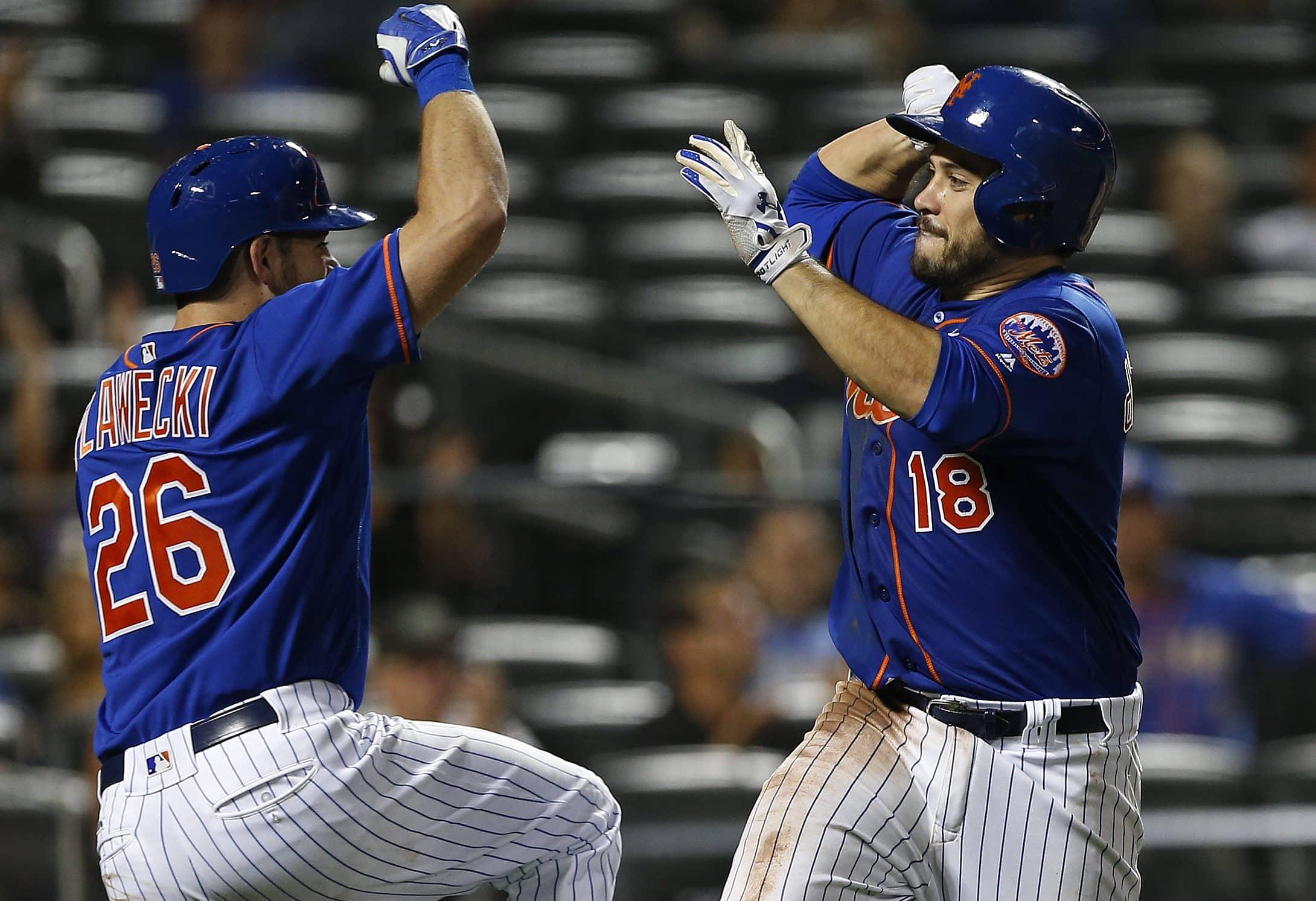 Travis dArnaud, Kevin Plawecki, New York Mets