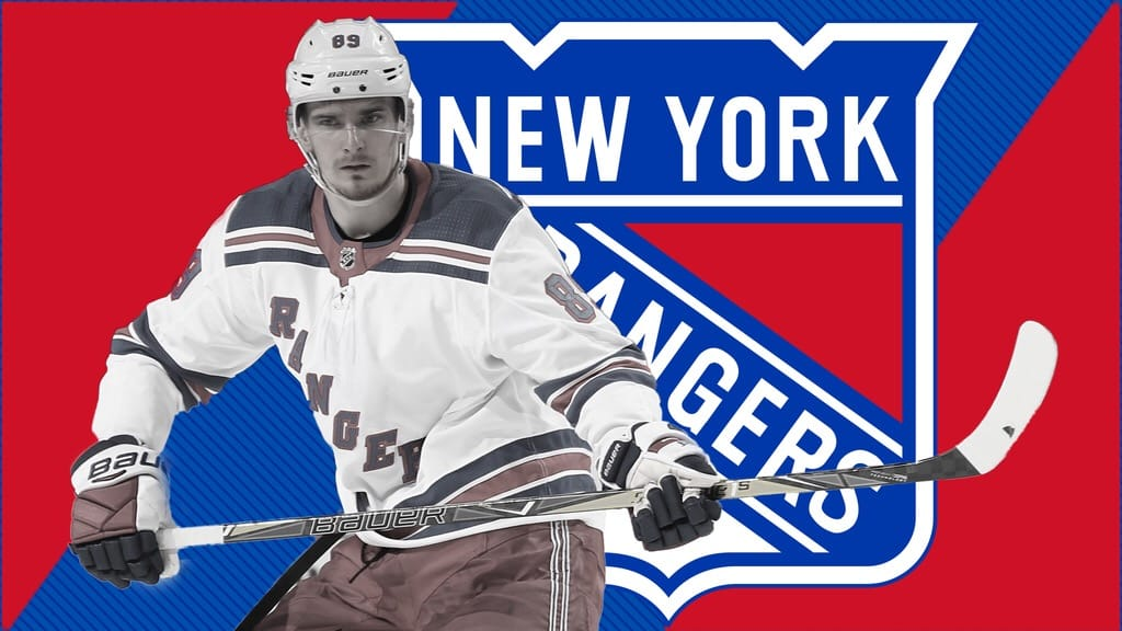 official photos d158c e15fb New York Rangers F Pavel Buchnevich felt the sting from ...