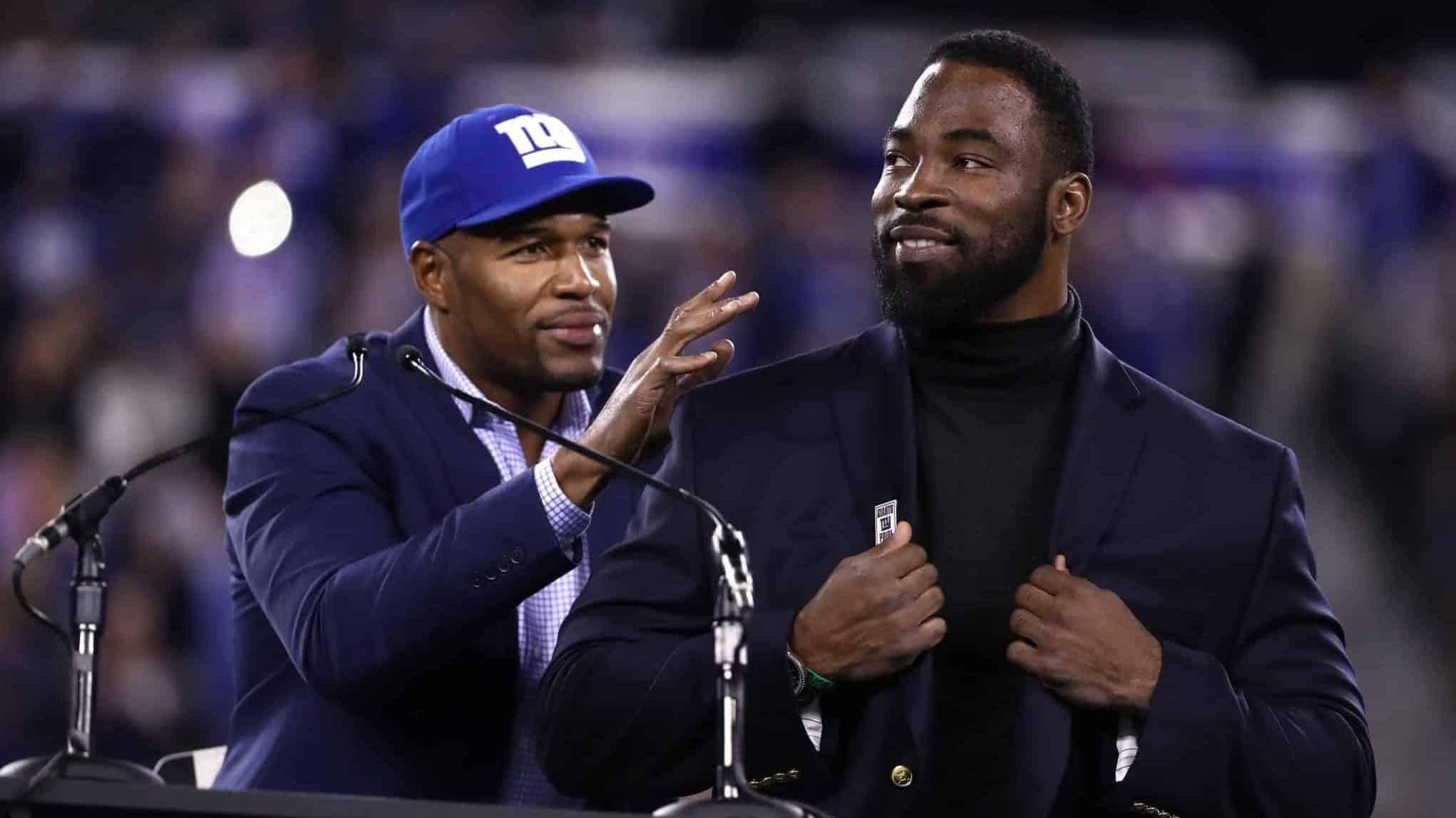 New York Giants, Michael Strahan, Justin Tuck
