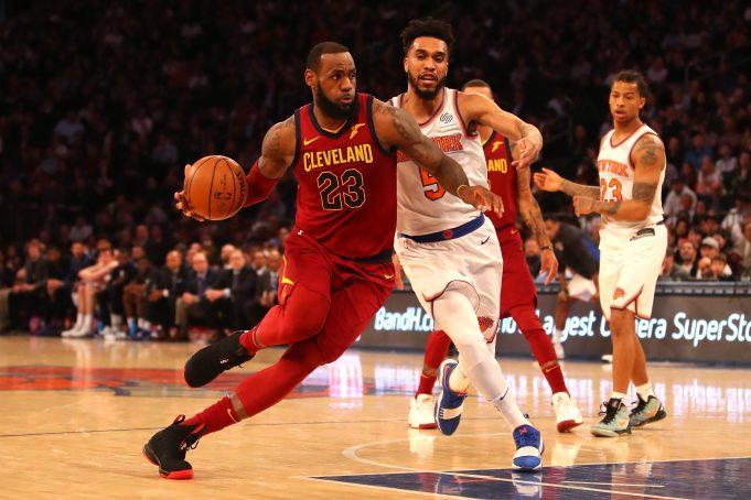 New York Knicks LeBron James