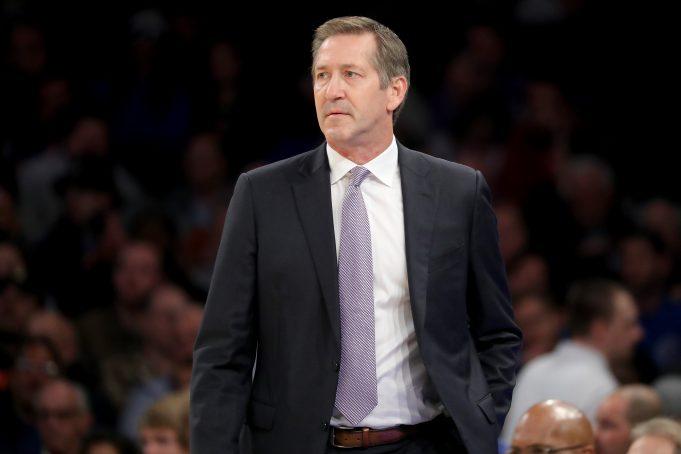 New York Knicks Jeff Hornacek