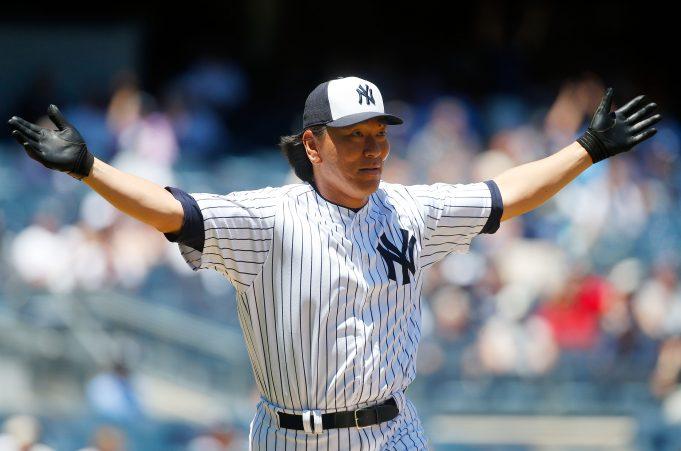 New York Yankees Hideki Matsui