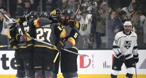 Vegas Golden Knights first Stanley Cup Playoff win