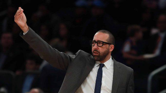 New York Knicks David Fizdale Jerry Stackhouse