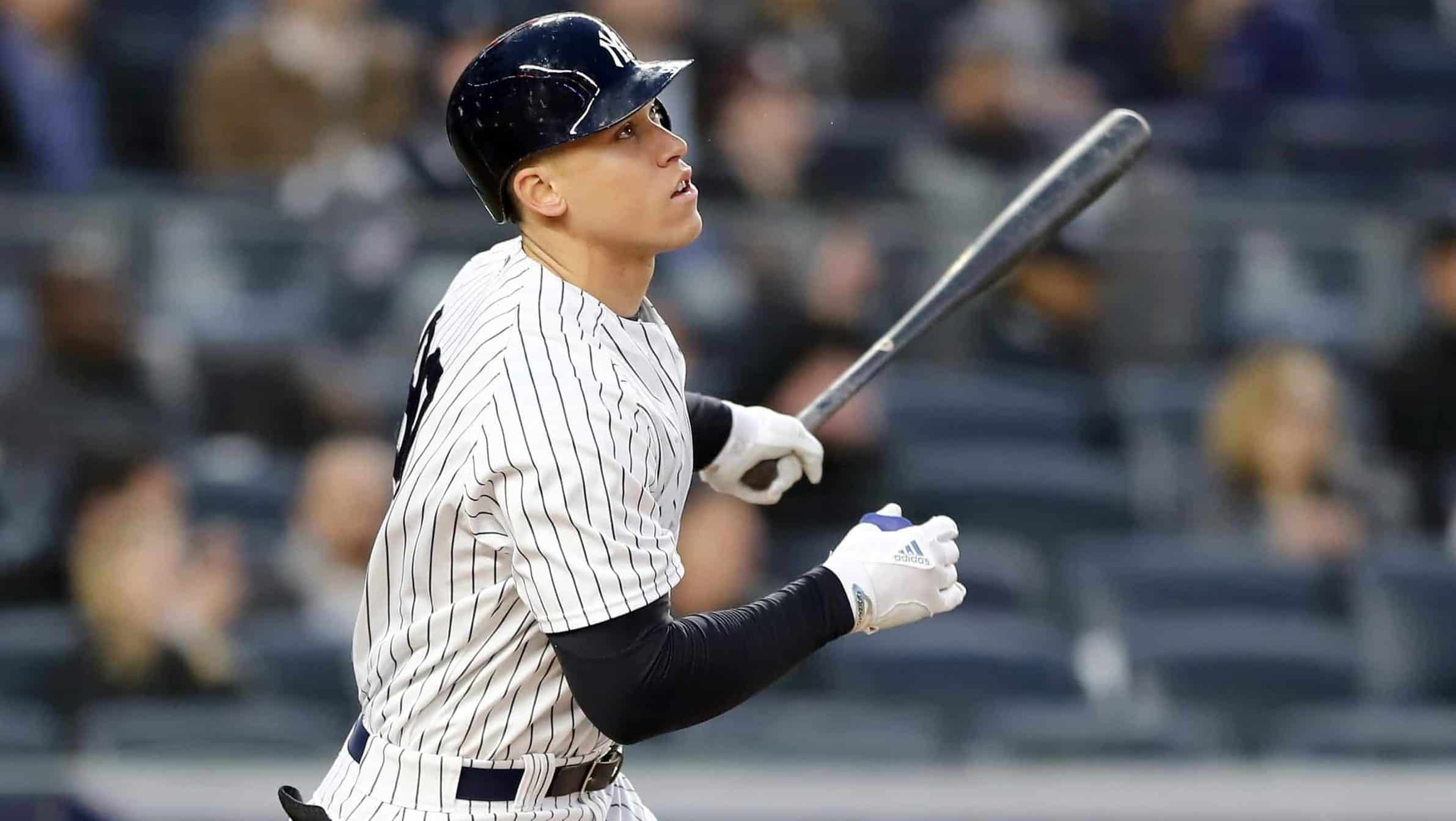 3bfc8ea69 New York Yankees  All Rise! Aaron Judge shines in April