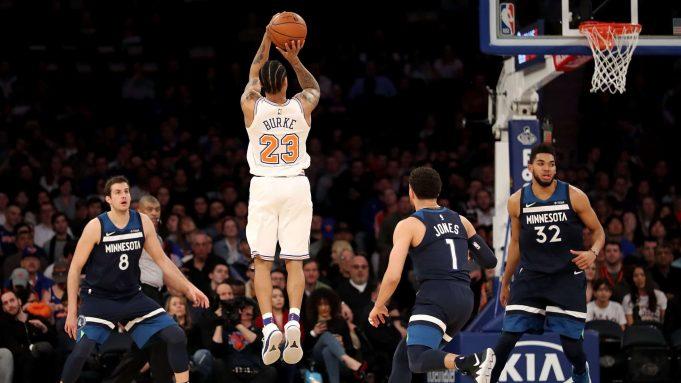 Westchester Knicks Trey Burke