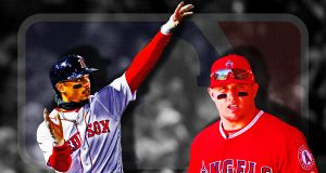 Mookie Betts Mike Trout