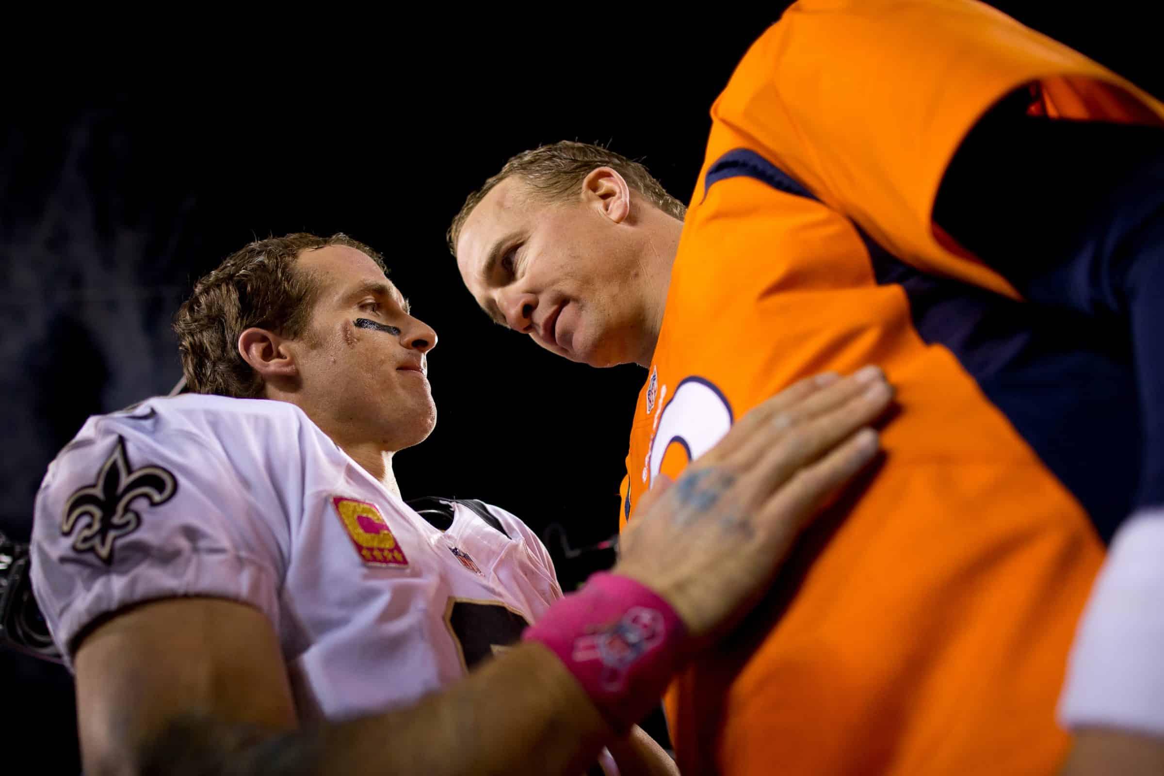 Drew Brees, Peyton Manning