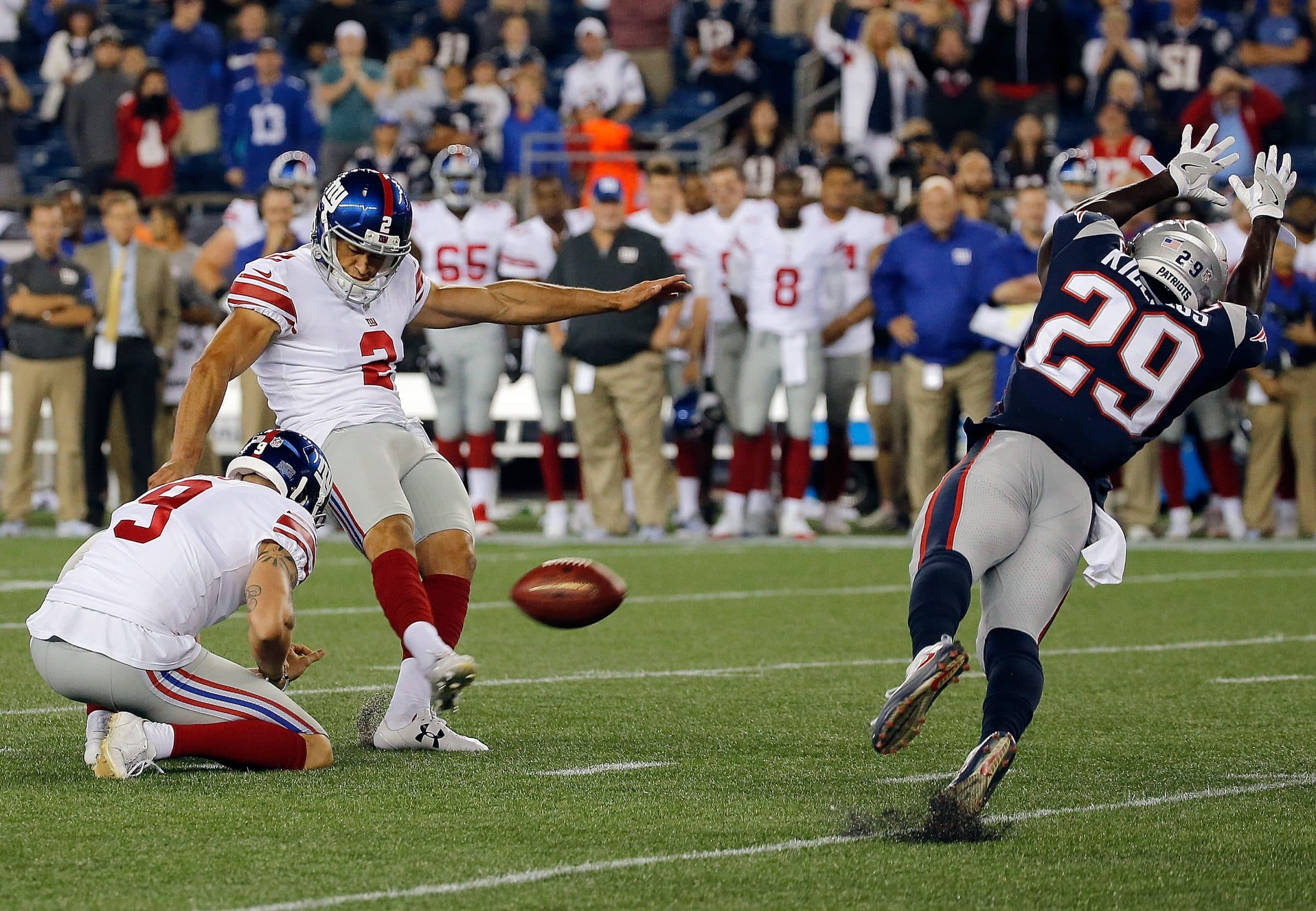 New York Giants, Mike Nugent