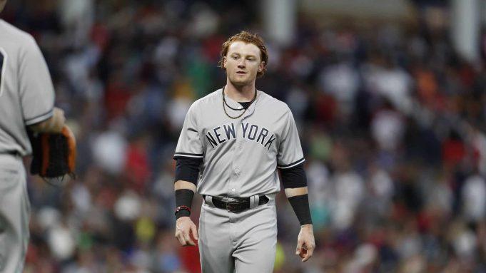 New York Yankees Clint Frazier