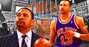 New York Knicks Mark Jackson