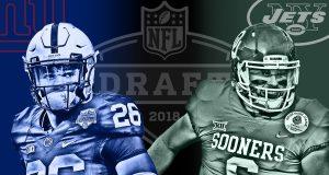 NFL Draft Saquon Barkley Baker Mayfield