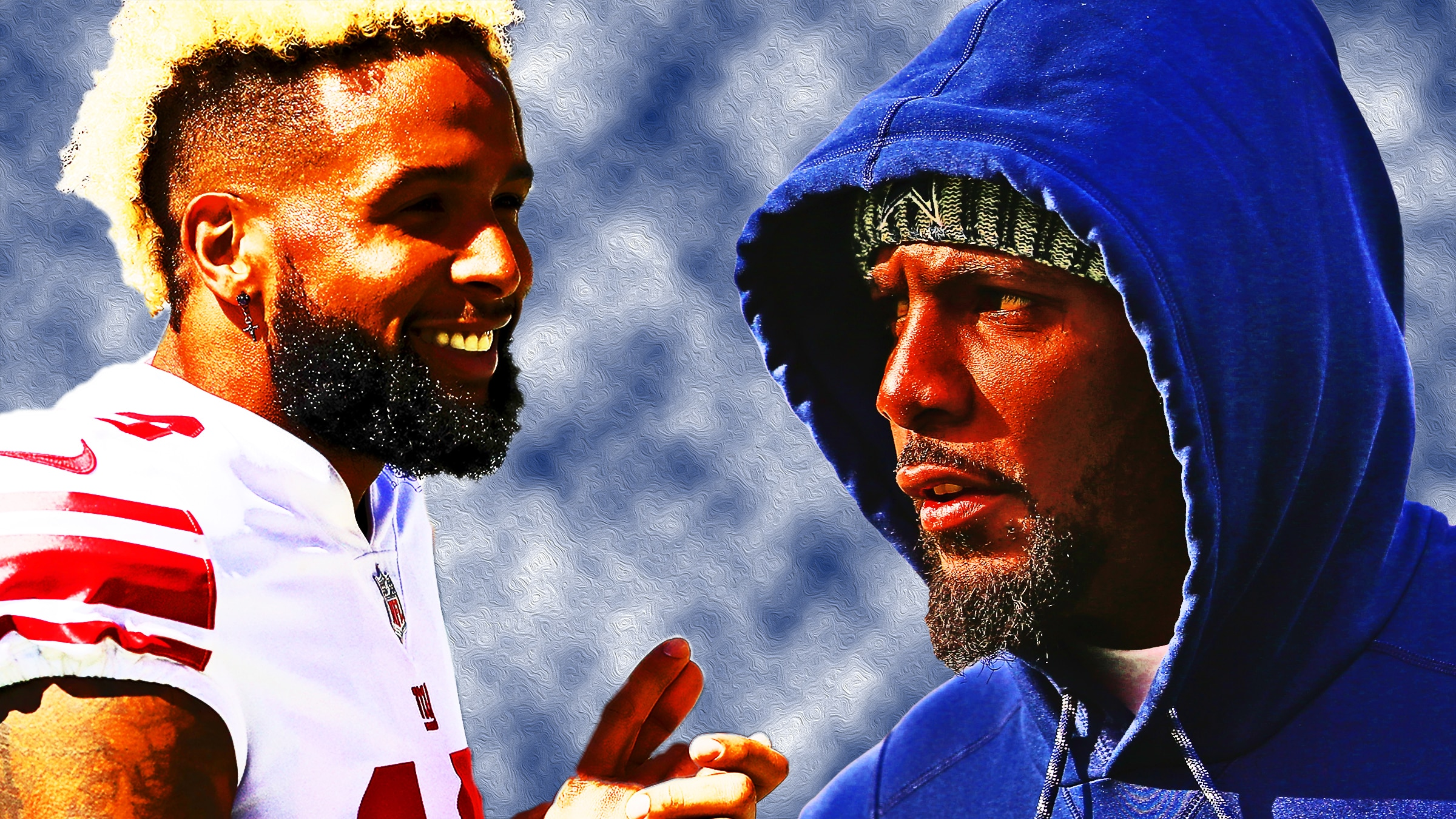 New York Giants Odell Beckham Jr Working Out With Dez