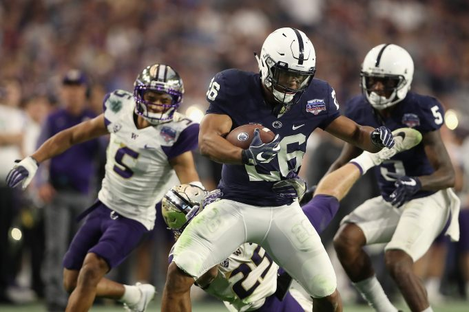 Pros and Cons of drafting Saquon Barkley