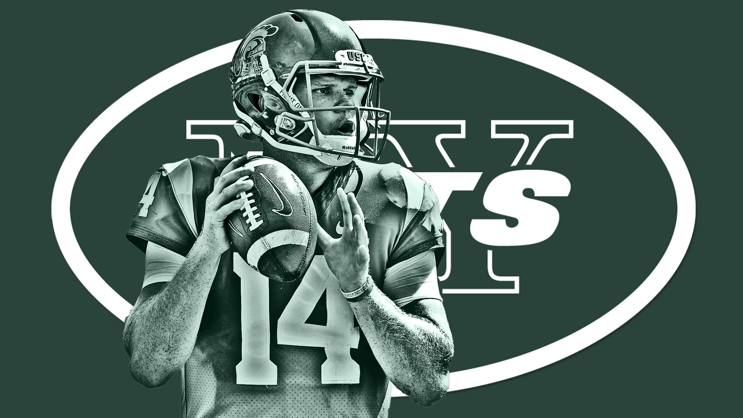 New York Jets select Sam Darnold with