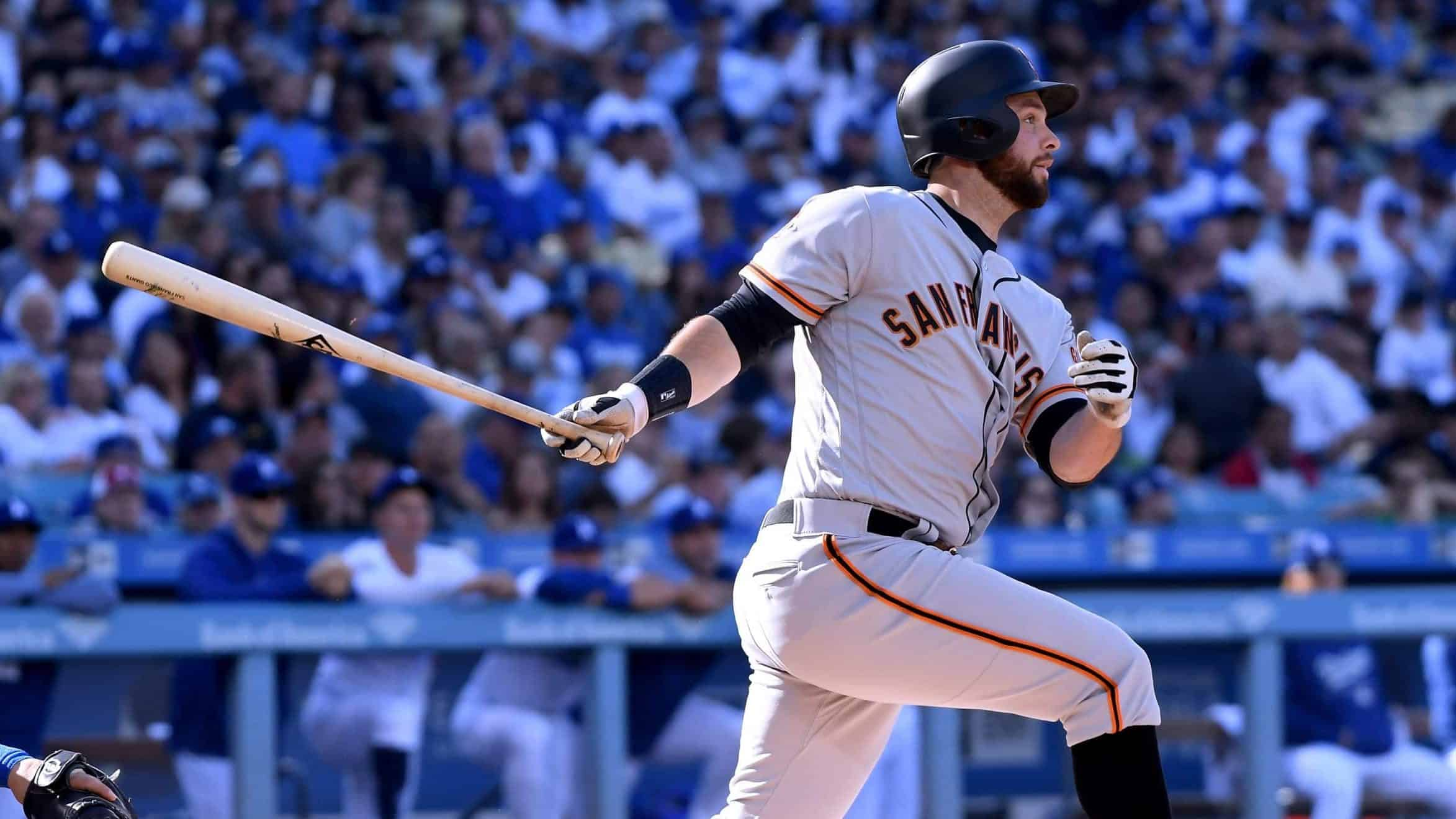 San Franciso Giants Belt sets MLB record