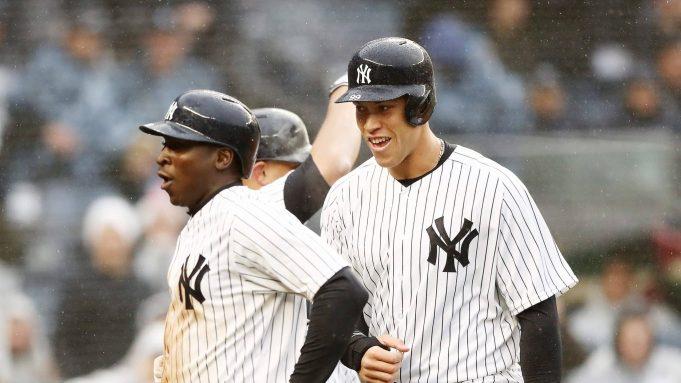 New York Yankees Didi Gregorius Postgame