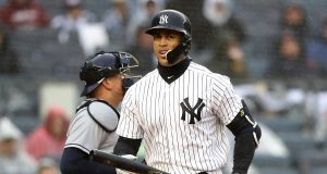 Giancarlo Stanton's struggles might force a lineup change for the Yankees