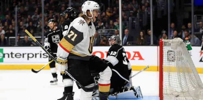 Vegas Golden Knights set to sweep Kings