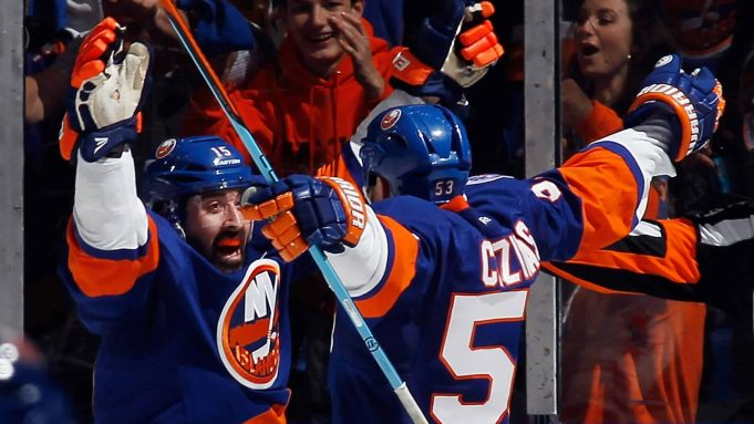 Washington Capitals, New York Islanders, Nassau Coliseum, Casey Cizikas, Cal Clutterbuck, Game Four