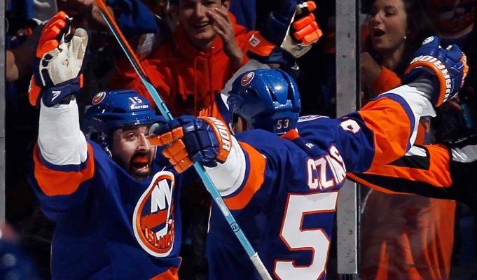 Washington Capitals, New York Islanders, Nassau Coliseum, Casey Cizikas, Cal Clutterbuck, Game Four