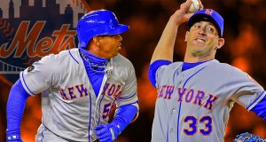 Yoenis Cespdedes Matt Harvey