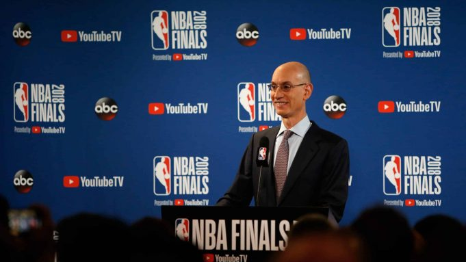 NBA Finals Adam Silver