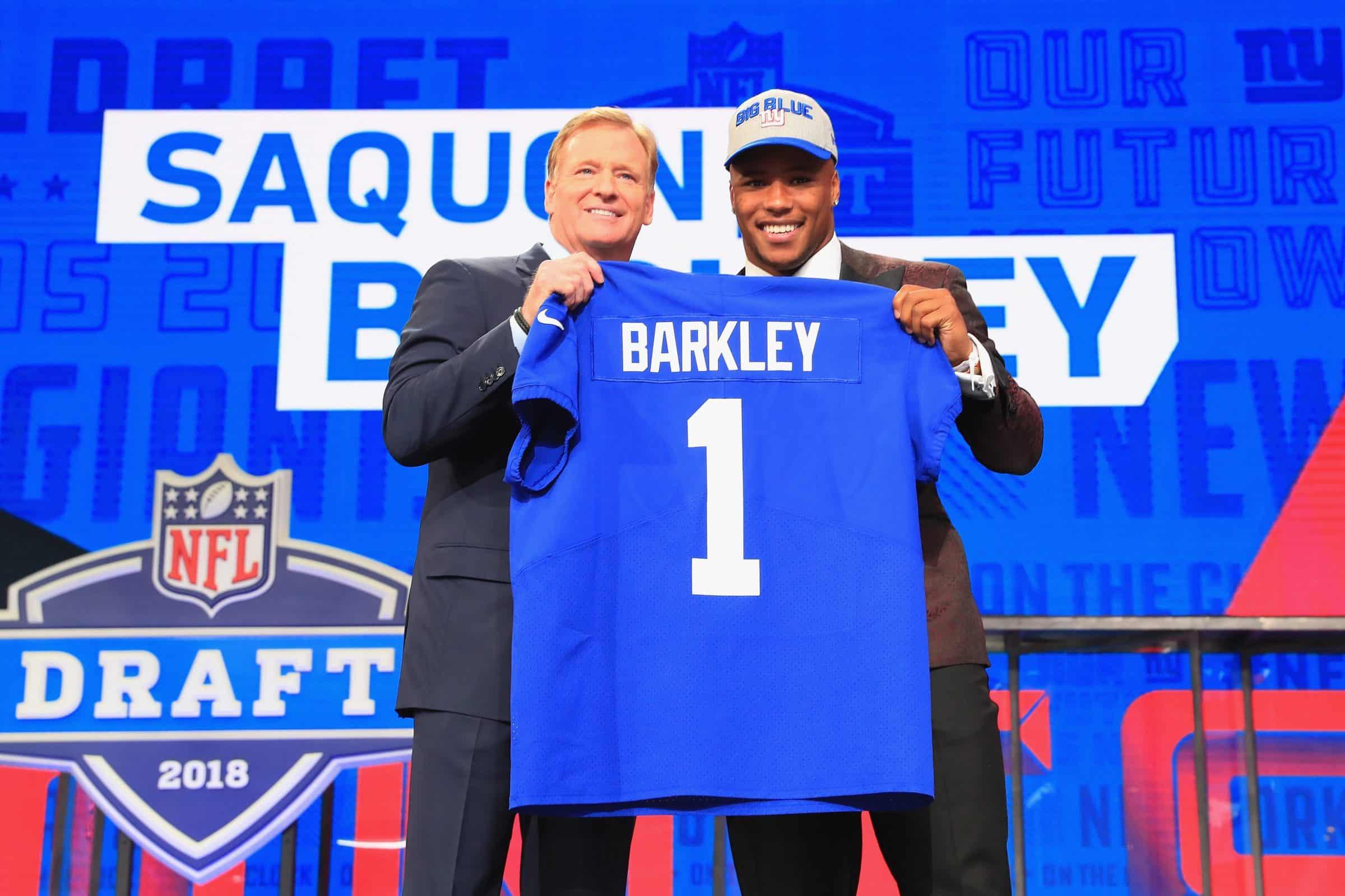 Saquon Barkley, New York Giants