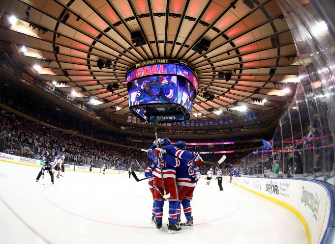 The New York Rangers power play was actually successful this year