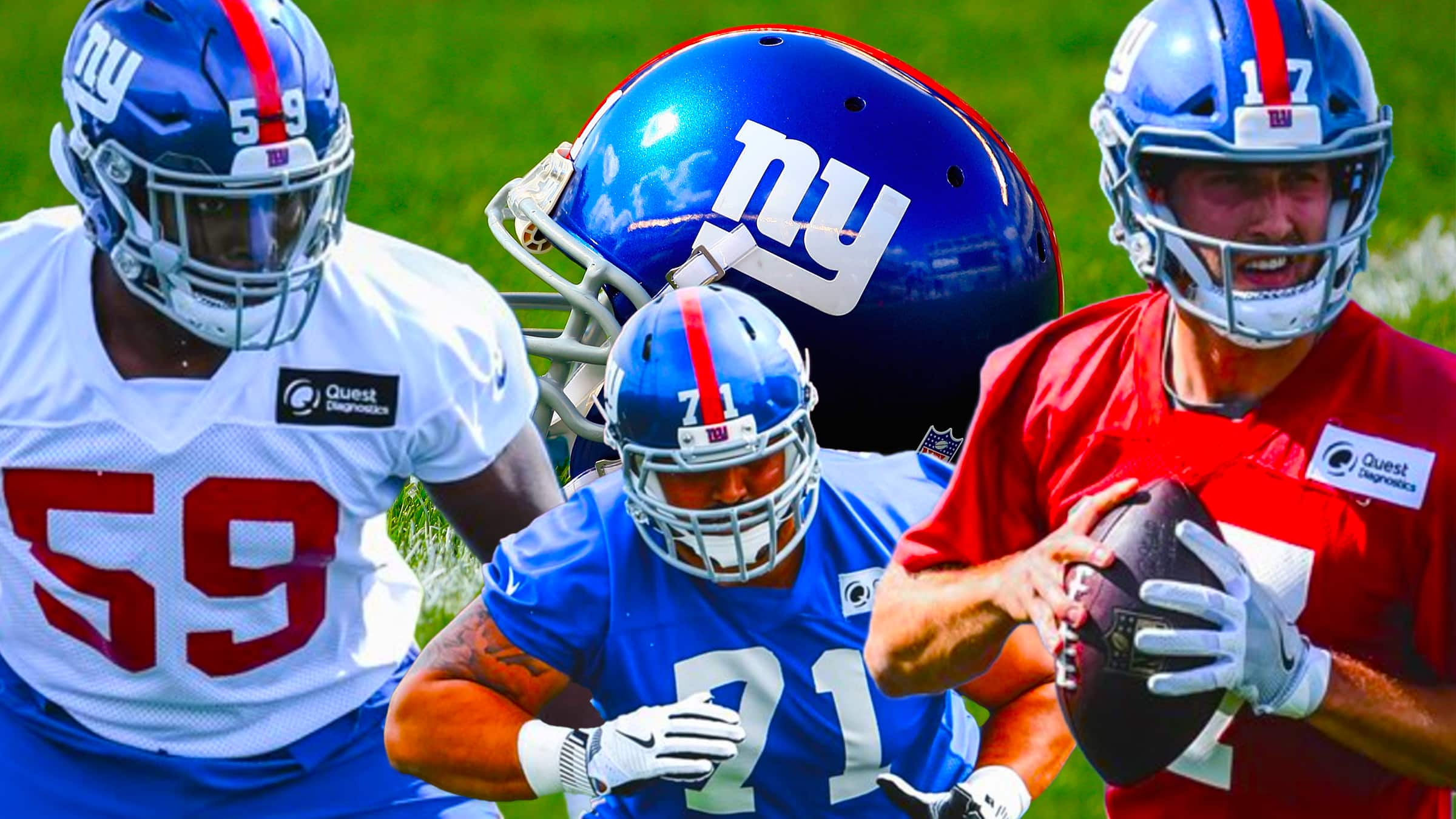 New York Giants Rookies