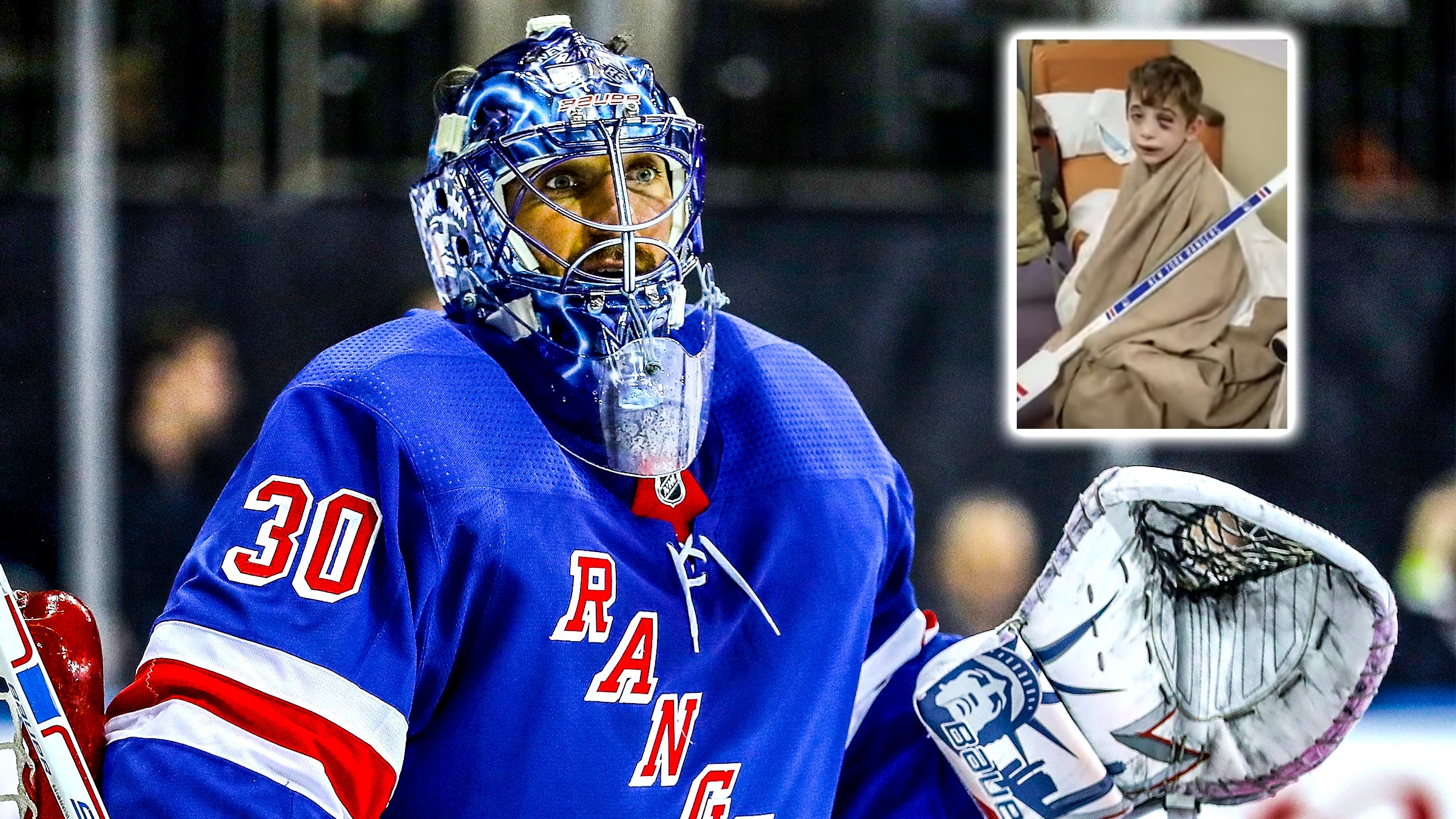 New York Rangers News Henrik Lundqvist Gifts Young Injured Fan