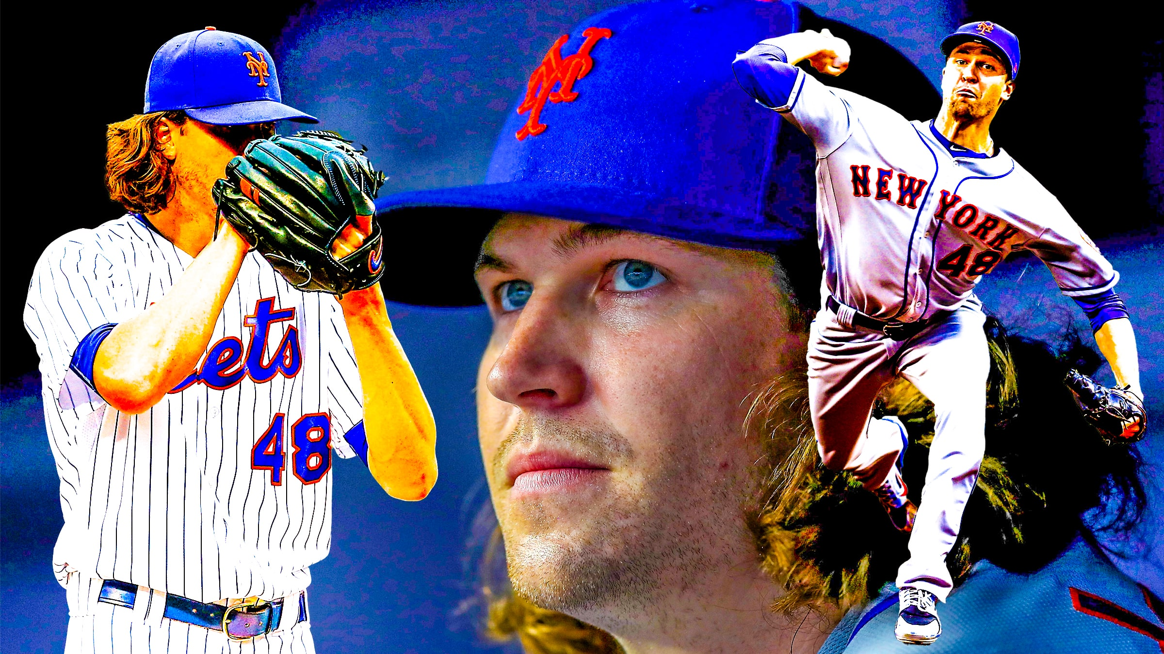 super popular 3b608 adc4f New York Mets video: Jacob deGrom presented with All-Star ...