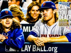 Jacob deGrom Noah Syndergaard