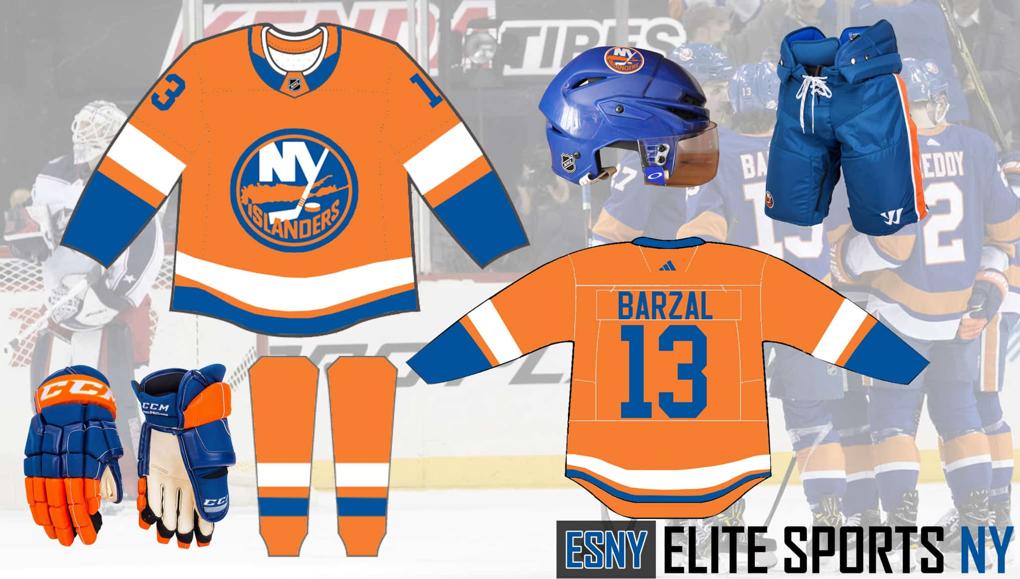 low priced fe26d b7bf1 New York Islanders: ESNY's solution to the club's third ...