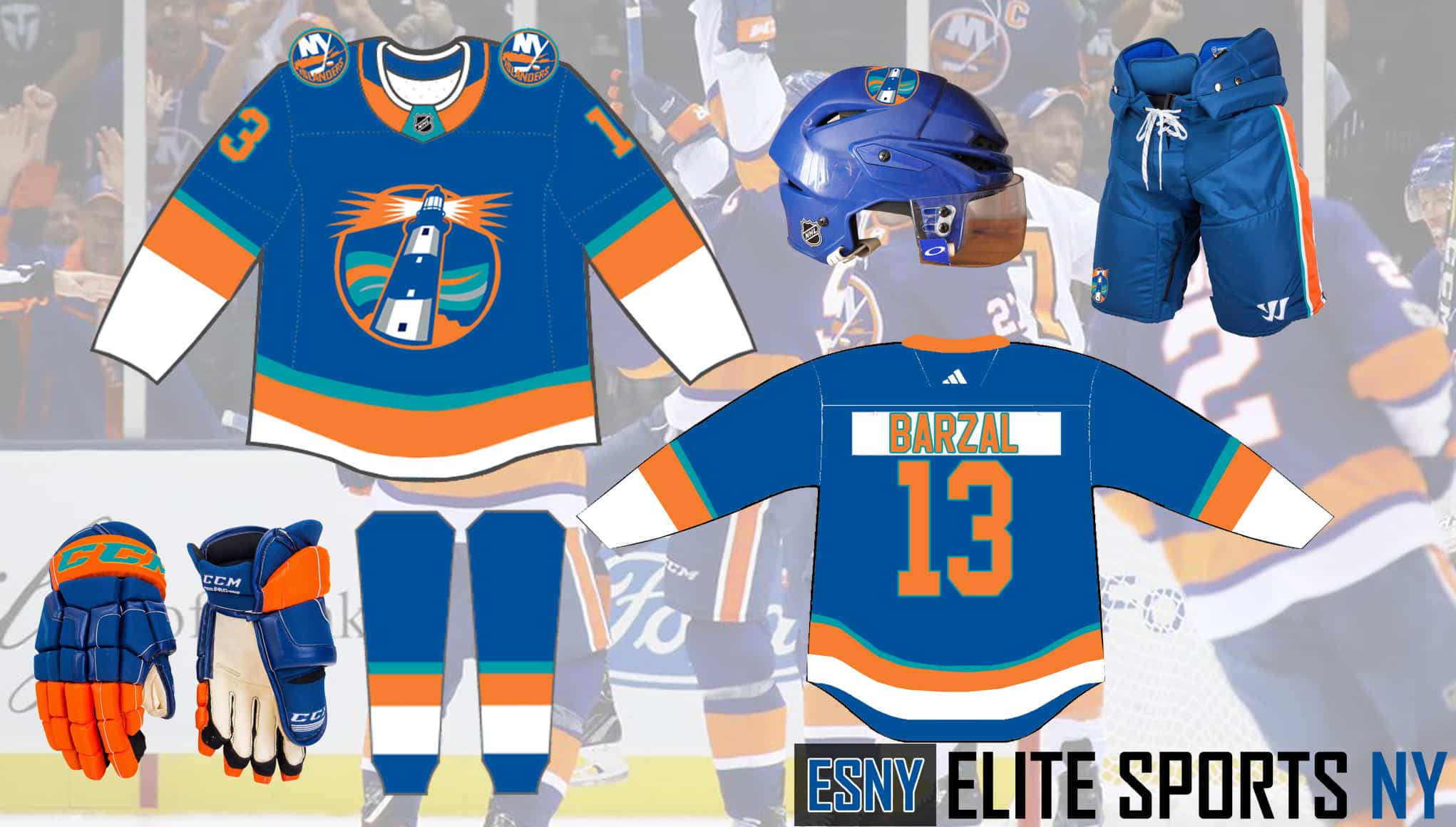 Islanders lighthouse alternate concept