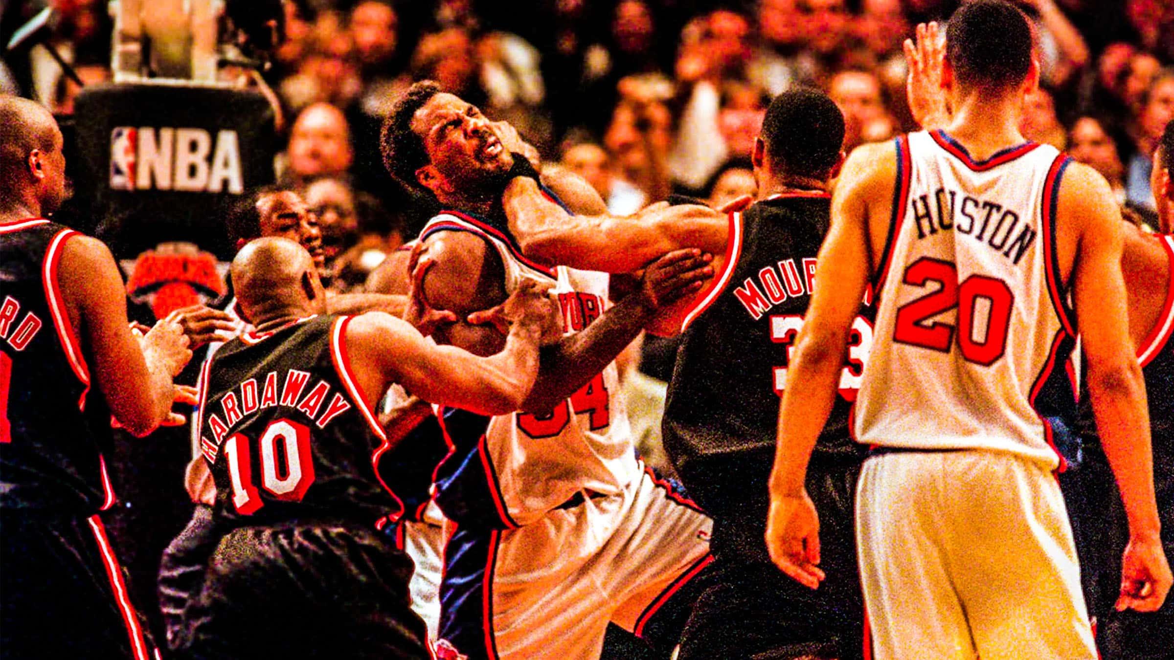 New York Knicks: New York Knicks Greatest NBA Team Fights Of The 1990s